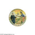 "Political:Pinback Buttons (1896-present), The Premier Teddy Roosevelt Button Variety, and One of the VeryBest of the Colorful Cartoon Designs from the ""Golden Era"" of ..."