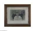 "Political:Posters & Broadsides (1896-present), Sought-after ""Equality"" Poster, with Theodore Roosevelt and Booker T. Washington Dining at the White House Washington was th..."
