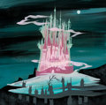 Animation Art:Concept Art, Mary Blair Cinderella King's Castle Concept Painting (WaltDisney, 1950)....