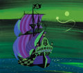 Animation Art:Concept Art, Mary Blair Peter Pan Jolly Roger Concept Painting (WaltDisney, 1953)....