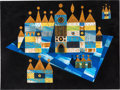 Animation Art:Concept Art, Mary Blair It's a Small World Concept Painting (Walt Disney, 1964)....