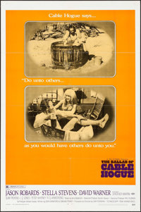 "The Ballad of Cable Hogue (Warner Brothers, 1970). One Sheet (27"" X 41""), Lobby Card Set of 8 (11"" X 14&q..."