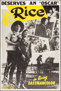 """Movie Posters:Foreign, The Rice People (Motion Picture Distributing Corp., 1957). One Sheet (28"""" X 42""""), & Photos (18) (8"""" X 10""""). Foreign.. ... (Total: 19 Items)"""