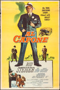 """Movie Posters:Crime, Al Capone (Allied Artists, 1959). Poster (40"""" X 60"""") Reynold BrownArtwork. Crime.. ..."""