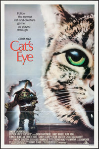 "Cat's Eye & Others Lot (MGM/UA, 1985). One Sheets (4) (27"" X 41"") Jeff Wack Artwork, & Lobby C..."