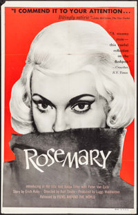 """Rosemary (Films Around the World, 1960). One Sheet (27"""" X 41"""") & Lobby Card Sets of 4 (2 Sets) (11"""" X..."""