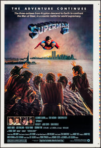 "Superman II (Warner Brothers, 1981). Proof Copy One Sheet (28"" X 41""). Action"
