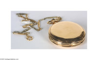 Magnificent President Franklin Delano Roosevelt Pocket Watch A magnificent relic of Franklin D. Roosevelt. His high-qual...