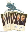 Miscellaneous:Ephemera, FDR Bridge Tally Cards / Bookmarks Lot of 17 Here is a great lotfor the dealer or collector. It contains 17 identical adve...