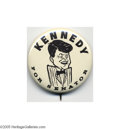 """Political:Pinback Buttons (1896-present), 1960 John F. Kennedy Button Group Lot Sixteen pieces nearly all """"better"""" varieties. Please see our web site for additional ..."""