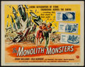 """Movie Posters:Science Fiction, The Monolith Monsters (Universal International, 1957). Title Lobby Card (11"""" X 14"""") Reynold Brown Artwork. Science Fiction...."""