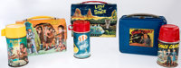 Space Related TV Shows Lunch Boxes Group of 3 (Aladdin, 1952-67).... (Total: 3 Items)