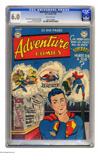 Adventure Comics #152 (DC, 1950) CGC FN 6.0 Off-white pages. John Sikela, John Daly, Ralph Mayo, and George Papp. Overst...