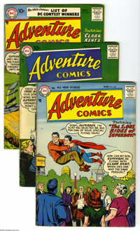 Adventure Comics #234-236 Group (DC, 1957) Condition: Average VG. All feature Curt Swan covers. Approximate Overstreet v...