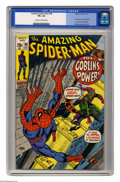 Bronze Age (1970-1979):Superhero, The Amazing Spider-Man #98 (Marvel, 1971) CGC VF+ 8.5 Cream to off-white pages. Green Goblin appearance. Drug story not appr...