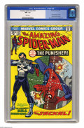 Bronze Age (1970-1979):Superhero, The Amazing Spider-Man #129 (Marvel, 1974) CGC NM- 9.2 White pages.First appearance of the Punisher. First appearance of th...