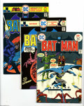 Modern Age (1980-Present):Superhero, Batman Group (DC, 1975-92) Condition: Average VF. This groupcontains issues #263, 266, 270, 288, 293, 297, 301, 312, 315, 3...(70 Comic Books)