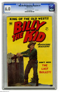 Golden Age (1938-1955):Western, Billy the Kid Adventure Magazine #3 (Toby Publishing, 1951) CGC FN 6.0 Off-white to white pages. Photo cover. Four pages of ...