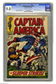 Captain America #102 (Marvel, 1968) CGC VF/NM 9.0 Off-white to white pages. The Red Skull and the Sleeper appear. Jack K...