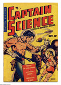 Golden Age (1938-1955):Superhero, Captain Science #1 (Youthful Magazines, 1950) Condition: VG. Origin Captain Science. Wally Wood art. Overstreet 2005 VG 4.0 ...