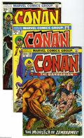 Bronze Age (1970-1979):Miscellaneous, Conan the Barbarian Group (Marvel, 1973-77) Condition: AverageVF/NM. This group consists of 23 comics: #28, 30, 31, 33, 36,...(23 Comic Books)