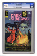 Bronze Age (1970-1979):Horror, Dark Shadows #30 File Copy (Gold Key, 1975) CGC NM 9.4 Off-white towhite pages. Last painted cover. Joe Certa art. This is ...