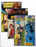 Silver Age (1956-1969):Romance, DC Silver and Bronze Age Romance Group (DC, 1959-72) Condition:Average GD. Thirteen issue lot includes Secret Hearts #8... (13Comic Books)