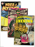 Silver Age (1956-1969):Miscellaneous, DC Miscellaneous Silver Age Group (DC, 1959-70). This groupcontains Challengers of the Unknown #10 (VG+ condition), G... (9Comic Books)
