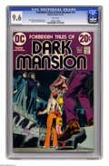 Bronze Age (1970-1979):Horror, Forbidden Tales of Dark Mansion #10 (DC, 1973) CGC NM+ 9.6 Whitepages. Nick Cardy cover. Mike Kaluta and Alfredo Alcala art...