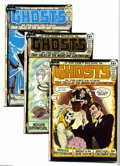 Bronze Age (1970-1979):Horror, Ghosts Group (DC, 1971-74) Condition: Average VF+. This groupconsists of 12 comics: #1, 2, 4, 7, 12, 17, 18, 19, 20, 21, 22...(12 Comic Books)