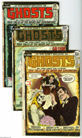 Bronze Age (1970-1979):Horror, Ghosts #1-5 Group (DC, 1971-72) Condition: Average VF. Five-issuelot includes #1 (GD/VG), 2, 3, 4, and 5. Featured artists ... (5Comic Books)