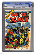 Bronze Age (1970-1979):Superhero, Giant-Size X-Men #1 (Marvel, 1975) CGC NM- 9.2 Off-white to whitepages. Easily one of the most important Marvel books from ...
