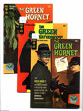 Silver Age (1956-1969):Adventure, The Green Hornet #1-3 Group (Gold Key, 1967) Condition: Average FN. This is the full run of the series, #1, 2, and 3. All ha... (3 Comic Books)