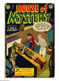 Golden Age (1938-1955):Horror, House of Mystery #2 (DC, 1952) Condition: GD/VG. Curt Swan cover.Swan, Jim Mooney, and Sheldon Moldoff art. Overstreet 2005...