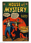 Golden Age (1938-1955):Horror, House of Mystery #3 (DC, 1952) Condition: VG+. Bob Brown cover.Brown, Ruben Moreira, Howard Purcell, George Roussos, and Cu...