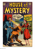 Golden Age (1938-1955):Horror, House of Mystery #4 (DC, 1952) Condition: FN+. Ruben Moreira cover.Moreira and George Klein art. Overstreet 2005 FN 6.0 val...