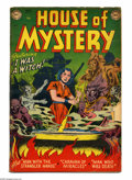 Golden Age (1938-1955):Horror, House of Mystery #5 (DC, 1952) Condition: GD+. Ruben Moreira cover.Moreira, Curt Swan, Jim Mooney, and Howard Purcell art. ...