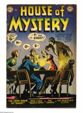 Golden Age (1938-1955):Horror, House of Mystery #11 (DC, 1953) Condition: GD/VG. Leonard Starrcover. Starr, Ruben Moreira, Bob Brown, and Curt Swan art. O...