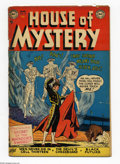 Golden Age (1938-1955):Horror, House of Mystery #12 (DC, 1953) Condition: GD/VG. Curt Swan cover.Swan, Leonard Starr, and Ed Smalle art. Overstreet 2005 G...