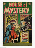 Golden Age (1938-1955):Horror, House of Mystery #13 (DC, 1953) Condition: VG+. Leonard Starrcover. Starr, Curt Swan, Ed Smalle, and Jerry Grandenetti art....