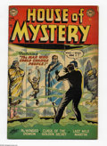 Golden Age (1938-1955):Horror, House of Mystery #15 (DC, 1953) Condition: VG. Curt Swan cover.Swan, Leonard Starr, Ed Smalle, and Jerry Grandenetti art. O...