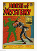 Golden Age (1938-1955):Horror, House of Mystery #16 (DC, 1953) Condition: VG-. Curt Swan cover.Swan, Leonard Starr, and Bill Ely art. Overstreet 2005 VG 4...