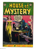 Golden Age (1938-1955):Horror, House of Mystery #24 (DC, 1954) Condition: VG. Ruben Moreira cover.Moreira, Jim Mooney, Curt Swan, Bill Ely, and Ray Bailey...