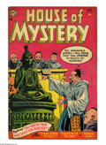 Golden Age (1938-1955):Horror, House of Mystery #30 (DC, 1954) Condition: VG+. Ruben Moreiracover. Moreira, Jim Mooney, and Bill Ely art. Overstreet 2005 ...