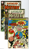 Bronze Age (1970-1979):Horror, House of Mystery Group (DC, 1968-72) Condition: Average FN/VF.Nine-issue lot includes #160 (first Silver Age appearance of ... (9Comic Books)