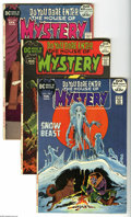 Bronze Age (1970-1979):Horror, House of Mystery Group (DC, 1972-83) Condition: Average VF-.Fourteen-issue lot includes #199, 200, 201, 202, 204, 209, 214,...(14 Comic Books)