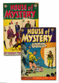 Golden Age (1938-1955):Horror, House of Mystery #26-27 Group (DC, 1953) Condition: Average VG-.Lot includes #26 and 27. Approximate Overstreet value for g... (2Comic Books)