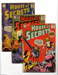 Silver Age (1956-1969):Horror, House of Mystery Group (DC, 1960-63) Condition: Average GD-. Thisgroup contains issues #32, 58 (two copies), and 59 through... (6Comic Books)