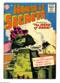 Silver Age (1956-1969):Horror, House of Secrets #1 (DC, 1956) Condition: VG-. Ruben Moreira cover.Bernard Baily, Mort Drucker, Jim Mooney, and Bill Ely ar...