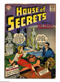 Silver Age (1956-1969):Mystery, House of Secrets #3 (DC, 1957) Condition: GD+. Jack Kirby cover.Kirby, Jim Mooney, Henry Boltinoff, Ruben Moreira, Bernard ...